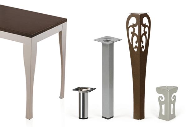 Patas metalicas para muebles images - Patas regulables para mesas ...